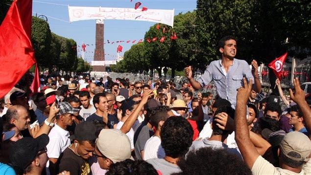 Tunisie un manifestant est mort gafsa le monde arabe for Ministere exterieur tunisie