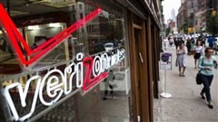 Une boutique de Verizon aux États-Unis