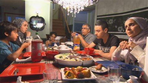 Le repas du soir durant le Ramadan