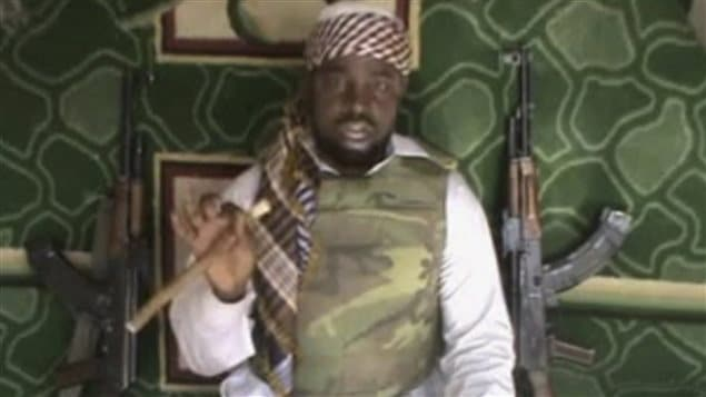 Le chef du groupe Boko Haram, Abubakar Shekau, apparaît ici dans une vidéo mise en ligne le 10 janvier 2012.