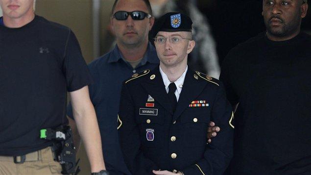 El soldado Bradley Manning quien está siendo juzgado por revelar secretos de Estados Unidos.