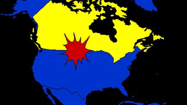 North Portal en Amérique du Nord