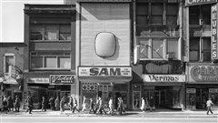 Gabor Szilasi - Sam the Record Man, 397, rue Sainte-Catherine Ouest, 1977