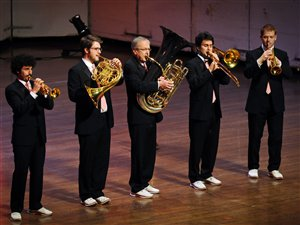 L'ensemble de cuivres Canadian Brass