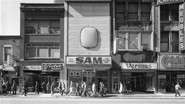 Gabor Szilasi - Sam the Record Man, 397, rue Sainte-Catherine Ouest, 1977