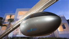 Tel Aviv s'apprête à construire un système de transport rapide suspendu sur rails.
