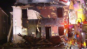 L'incendie a jeté plusieurs familles à la rue Morin.