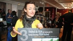 Pascale Bussières est porte-parole du Festival du film des Cantons-de-l'Est.