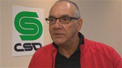 Le président du Syndicat des employés de garage du Saguenay-Lac-Saint-Jean, Georges Bouchard