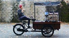 Un petit expresso sur votre vélo?