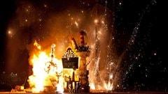Le feu de la Falla, une fête artistique qui se déroule à la Tohu. @ tohu.ca
