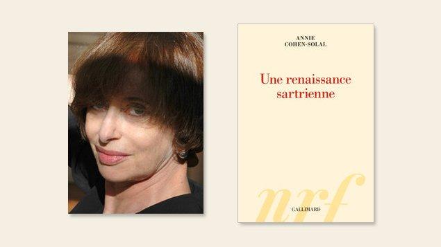 Annie Cohen-Solal, <em> Une renaissance sartriennel</em> | Photo: Gallimard