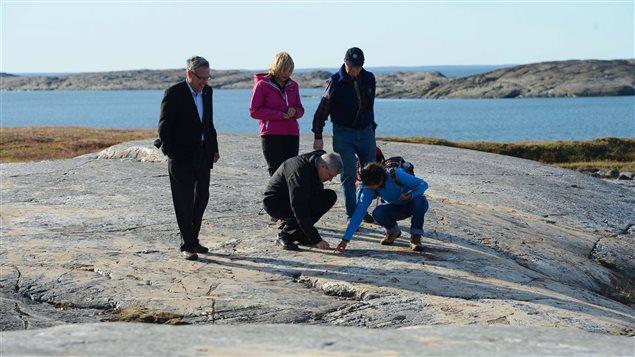 Le premier ministre Stephen Harper à Rankin Inlet au Nunavut le 22 août dernier.