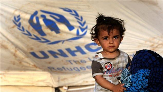 Plus d'un million d'enfants syriens se sont réfugiés dans des camps de l'Unicef.