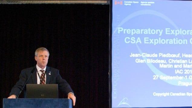 Jean-Claude Piedboeuf, directeur du développement de l'exploration spatiale à l'Agence spatiale canadienne.