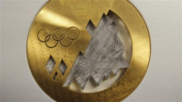 Médaille d'or des Jeux de Sotchi 2014