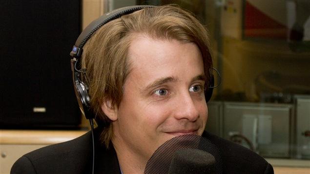 Le chercheur, auteur et journaliste Simon Tremblay-Pepin.