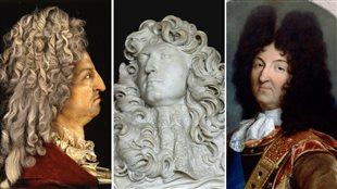 Les perruques du Roi-Soleil