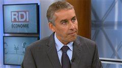 Le ministre des Finances du Québec, Nicolas Marceau, en entrevue avec Gérald Filion