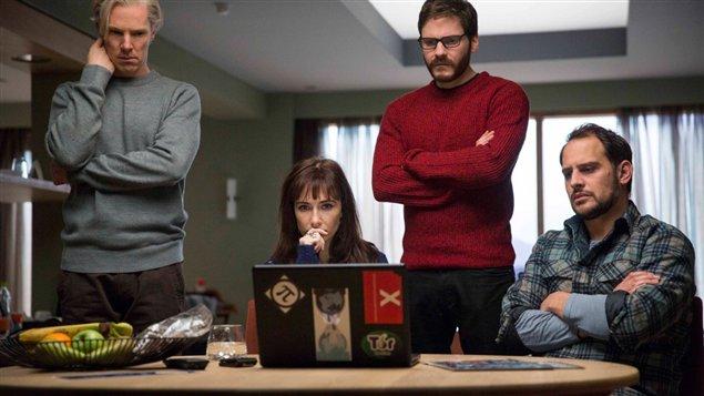 Image tirée du film « The Fifth Estate », présenté en première au TIFF le 5 septembre Image tirée du film « The Fifth Estate », présenté en première au TIFF le 5 septembre.