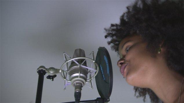 La chanteuse Mari�me