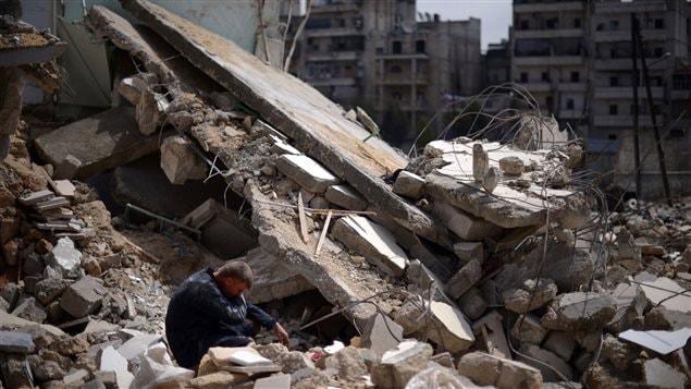 Décombre à Alep