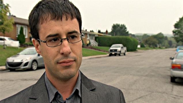 Claude Tardif, président du Syndicat de l'enseignement de l'Outaouais.
