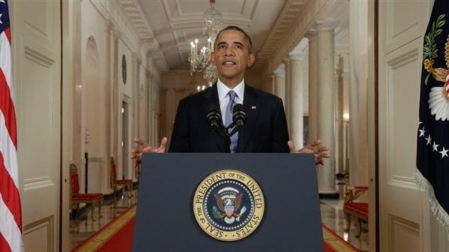 Discours à la nation du président Barack Obama, le 10 septembre 2013