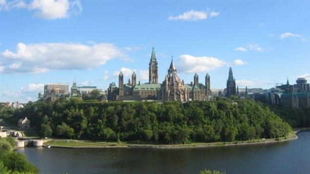 Ville d'Ottawa, la capitale du Canada.
