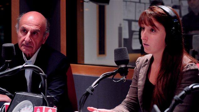 Hubert Sacy, dg d'Éduc-Alcool, et Valérie Couturier