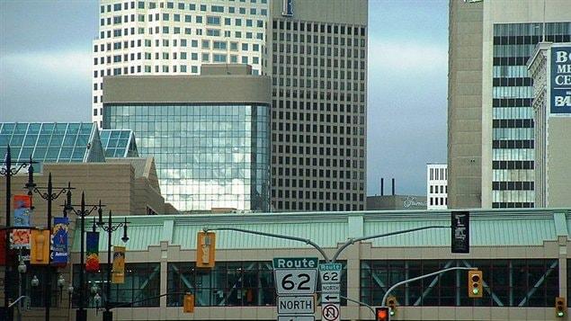 La ville de Winnipeg.