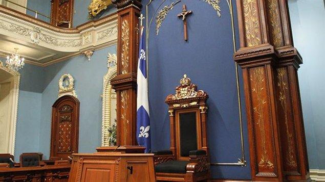 Le crucifix de l'Assemblée nationale du Québec