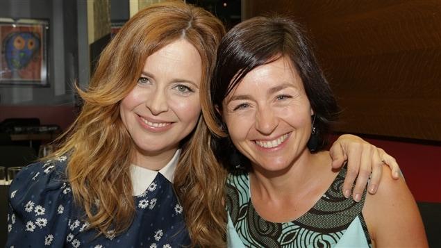 Julie Snyder et Laure Waridel