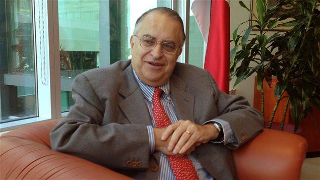 L'ambassadeur mexicain au Canada, Francisco Suarez