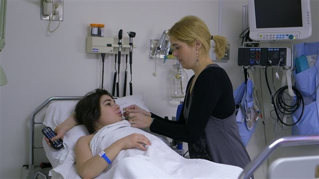 Documentaire <em>Partenaire invisible</em>, Catherine et sa fille Maelle