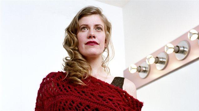 Aude Ray, représentante de la Colombie-Britannique au Chant'Ouest 2013
