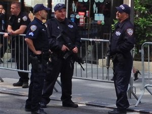 Policiers à New York