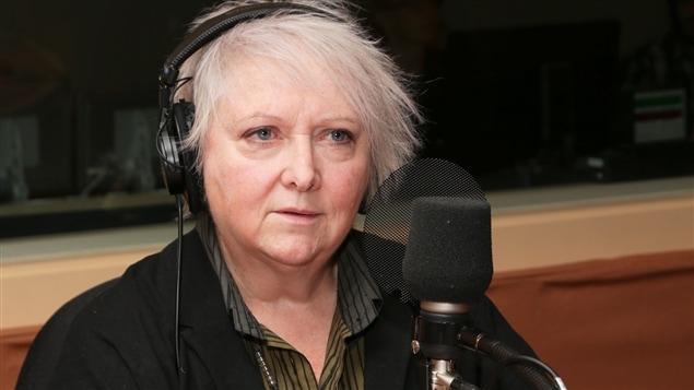 La comédienne et auteure Francine Ruel