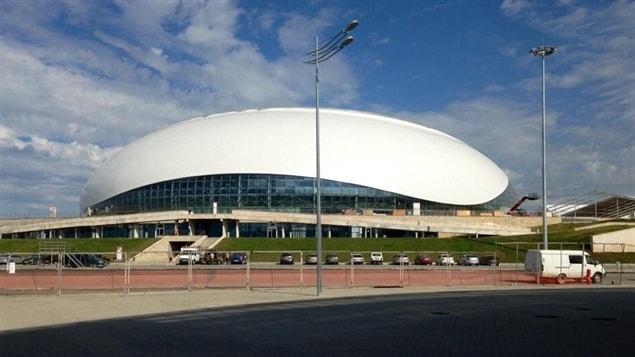 Le Palais de glace Bolshoi où la finale sera jouée.