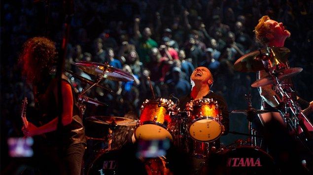 Photo du film américain Through the never mettant en vedette le groupe Metallica