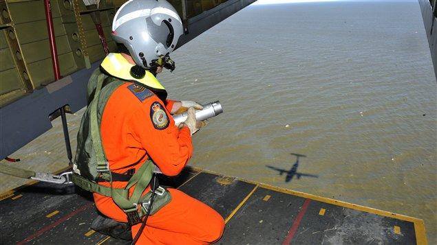 Opération de sauvetage de l'Aviation royale canadienne (archives)