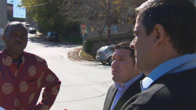 Trois candidats indépendants se présentent comme conseilllers à Sherbrookoe