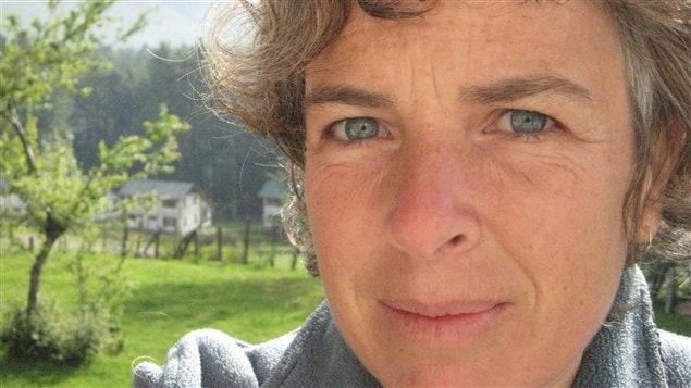La lauréate du prix 2013 de la poésie de Radio-Canada, Louise Gagnon.