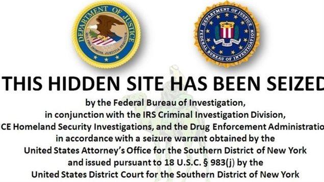 Le site Silk Road a été fermé le 2 octobre 2013 par le FBI.