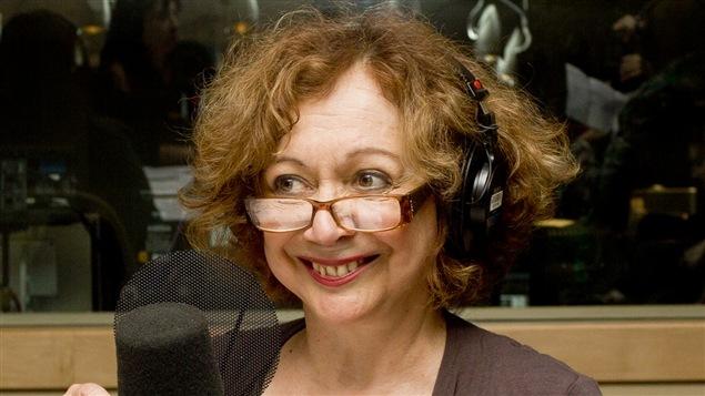 La comédienne Pauline Martin.