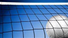 Un ballon de volleyball
