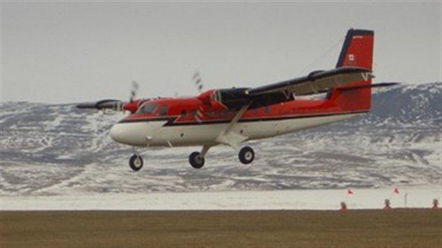 Un avion Twin Otter similaire à celui qui a disparu près de la base de la baie de Terra Nova.