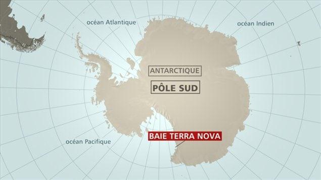 L'appareil effectuait, le 23 janvier 2013, la liaison entre le pôle Sud et la base italienne de Terra Nova Bay.