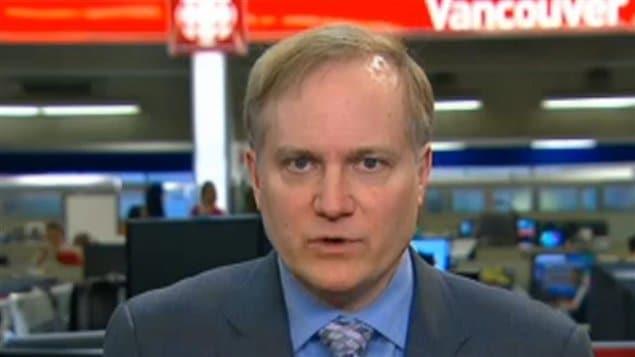 加拿大官方反对党新民主党的自然资源影子部长朱力安接受CBC专访。