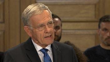 Marcel Côté, chef Coalition Montréal - Marcel Côté